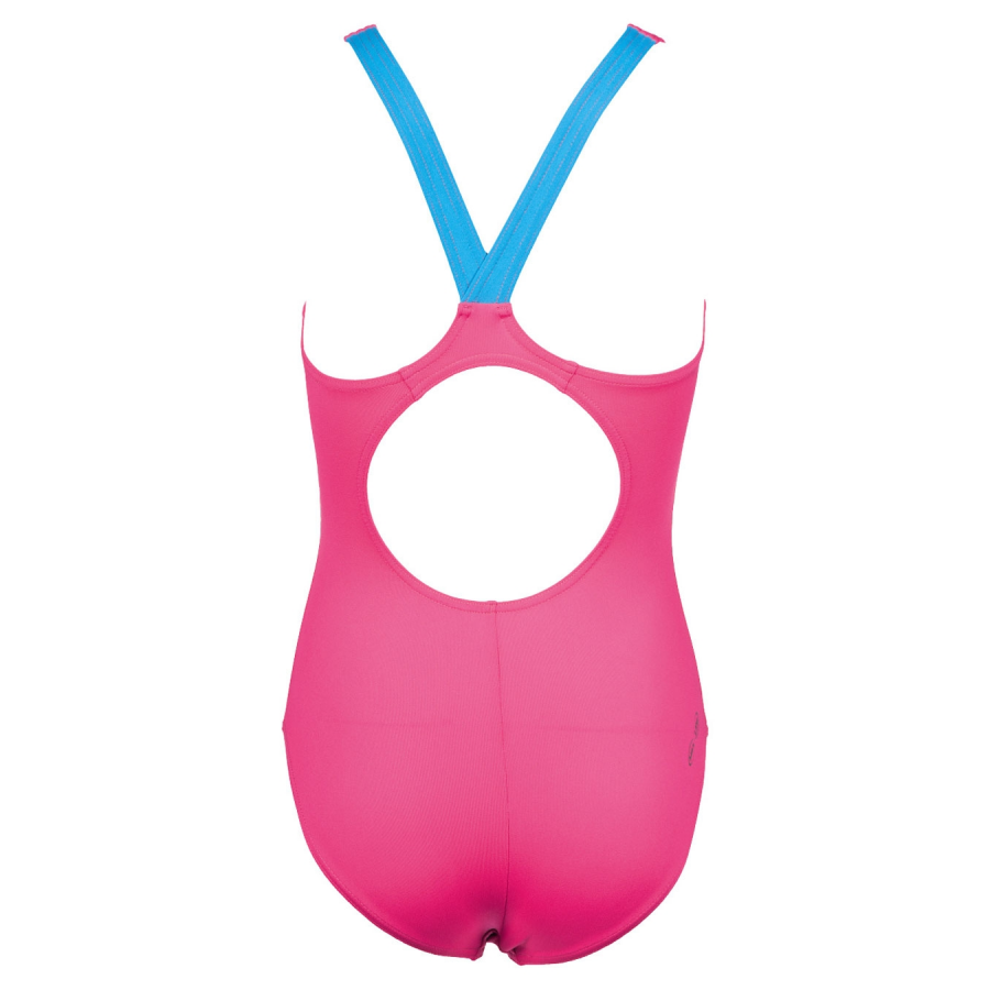 Arena Girls Floater Pink Swimsuit