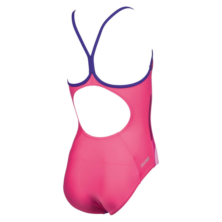 Arena Nifty Girls Pink Swimsuit