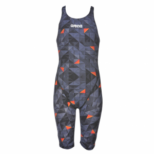 LIMITED EDITION Arena JUNIOR ST 2.0 Suit Black Orange