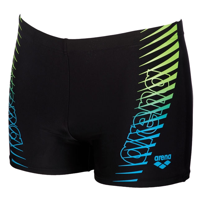 005b577073 Arena Urban Black / Green Swim Shorts