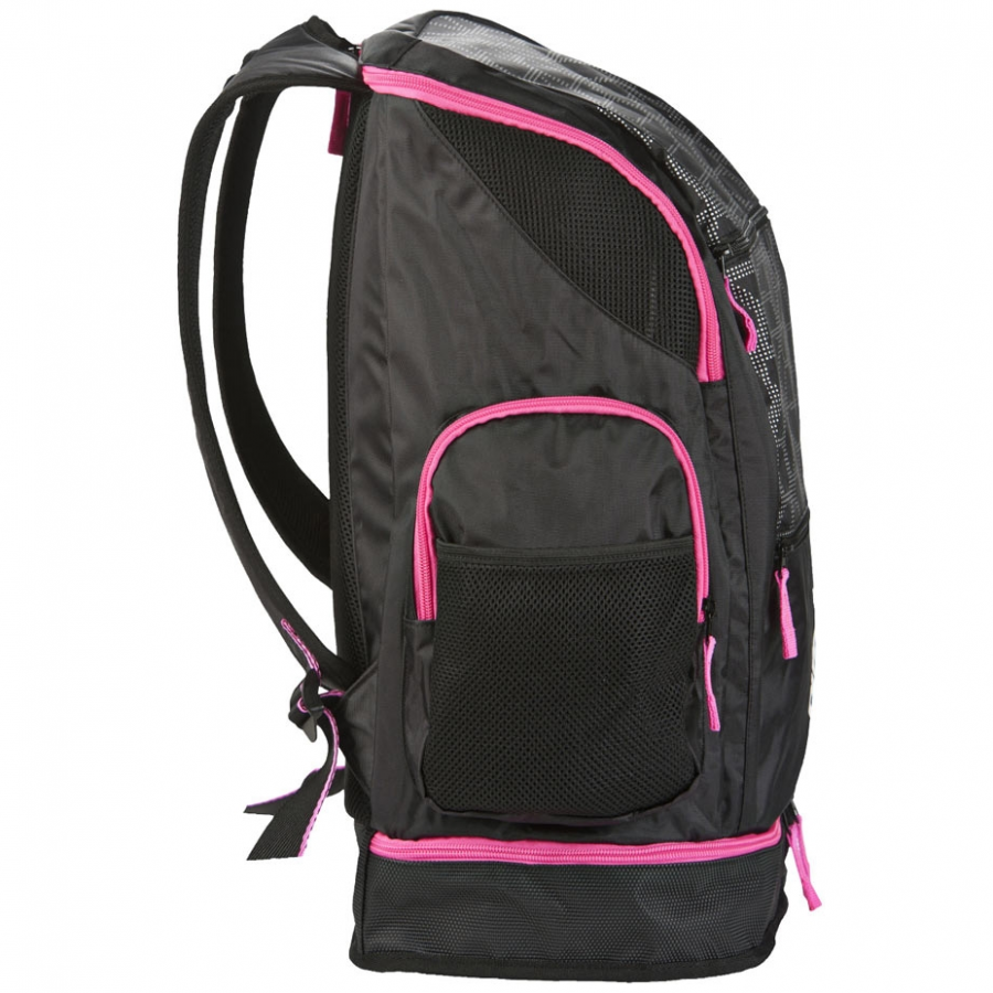 Arena Spiky 2 LARGE Backpack - X-PIVOT Black / Pink