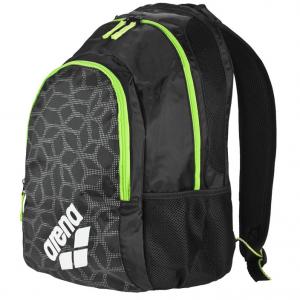 Arena Spiky 2 X-PIVOT Backpack - Black / Fluo Green