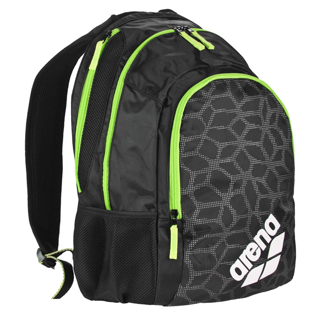 Arena Spiky 2 X-PIVOT Backpack - Black / Fluo Green