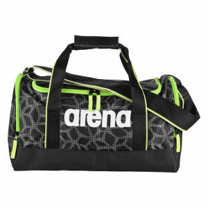 Arena Bag Small Spiky 2 X-Pivot Black / Fluo Green