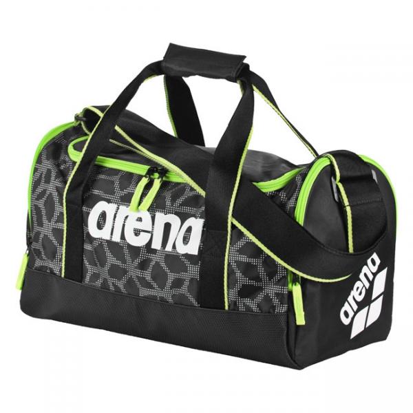 Arena Bag Small Spiky 2 X-Pivot Black / Fluo Green