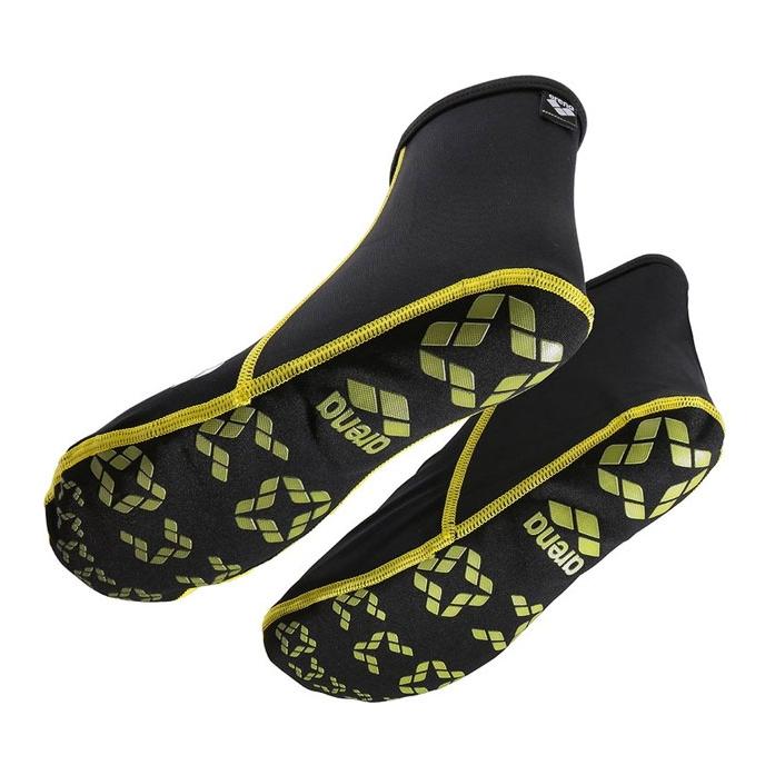 Shop Arena Pool Socks - Black