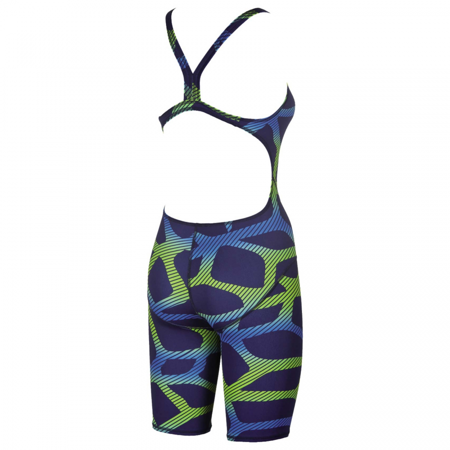 Arena Spider Legged Swimsuit - Bue / Green