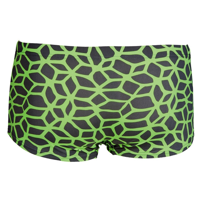 Arena Carbonics Low Waist Shorts - Shadow Grey / Green