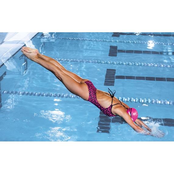 Arena Carbonics Pink Swimsuit
