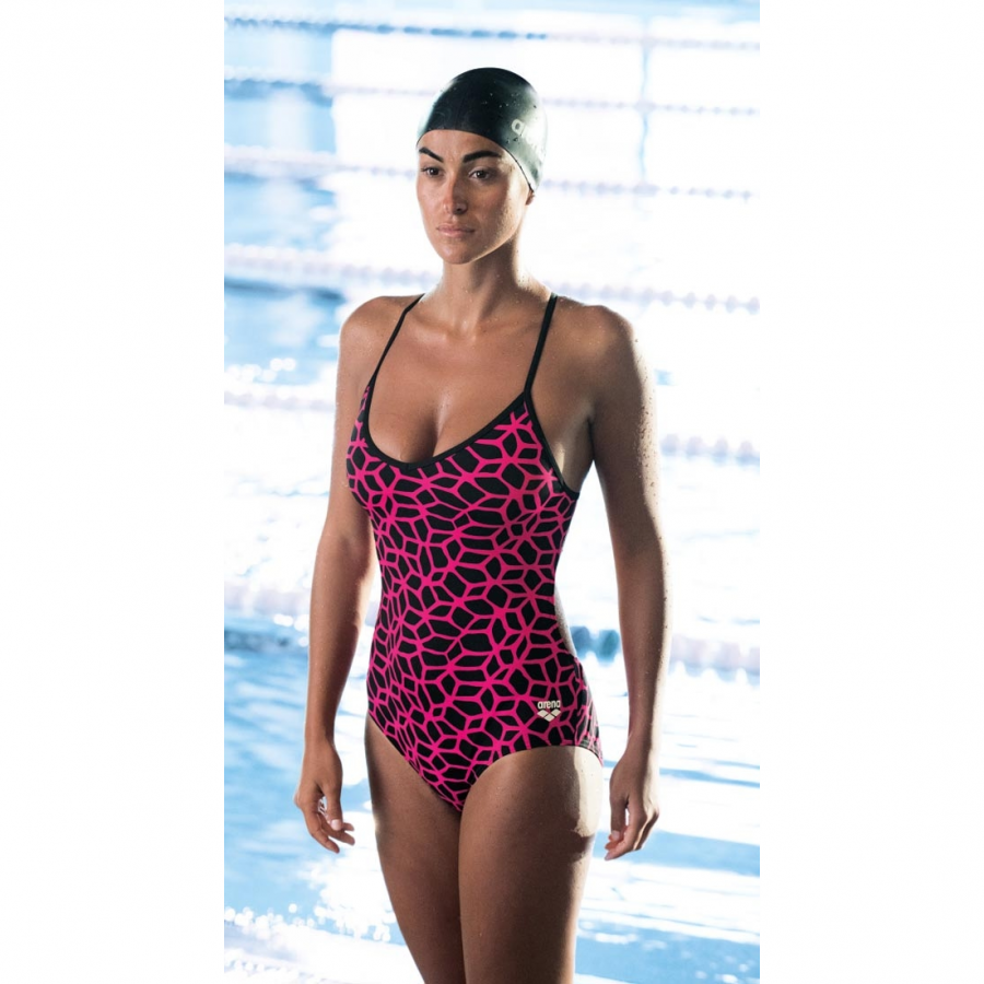 Arena Carbonics Pink Swimsuit