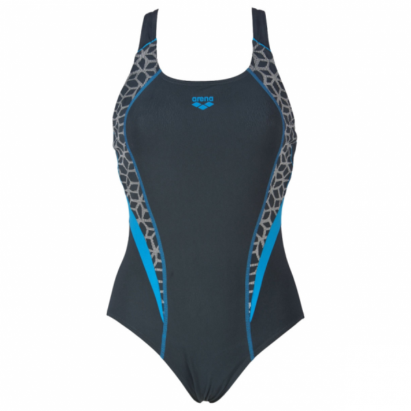 Arena Microcarbonite Grey Swimming Costume