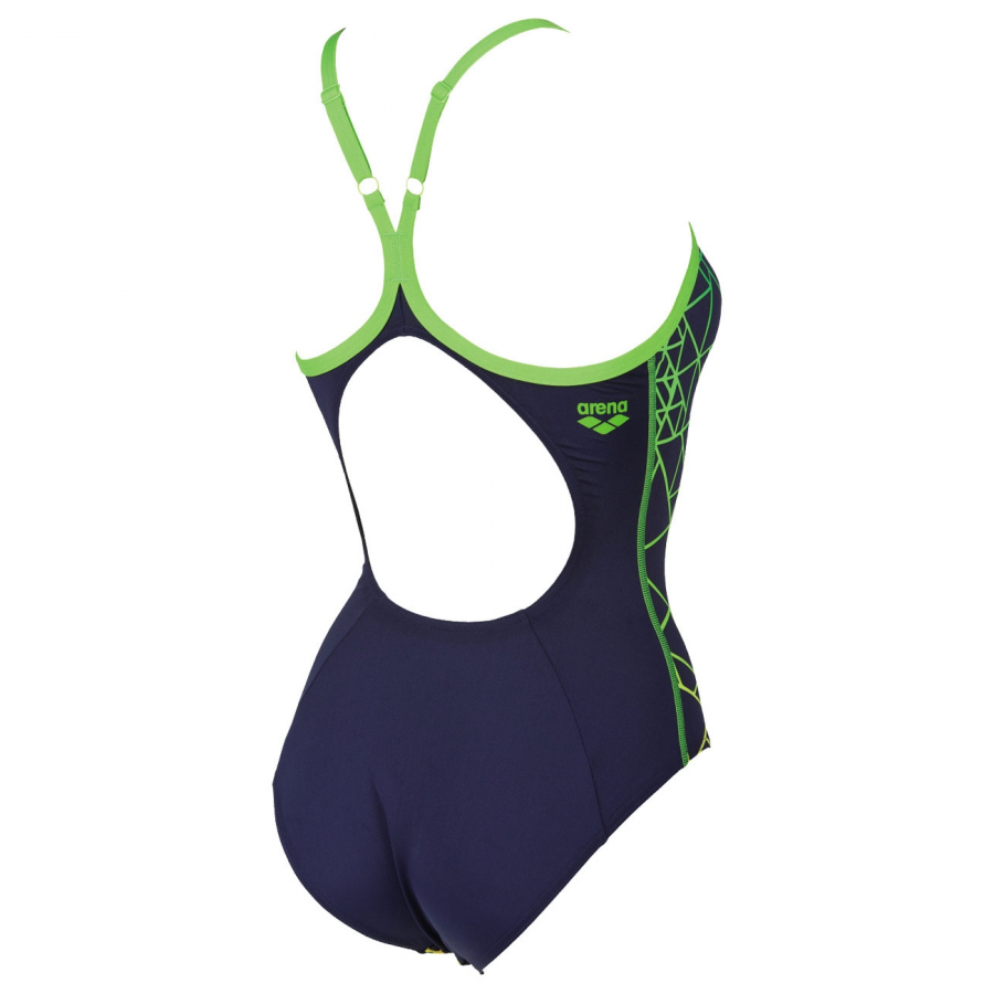 Arena Reticulum Blue Swimsuit