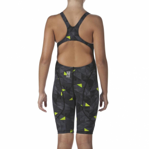 LIMITED EDITION Arena JUNIOR ST 2.0 Suit - Black / Yellow