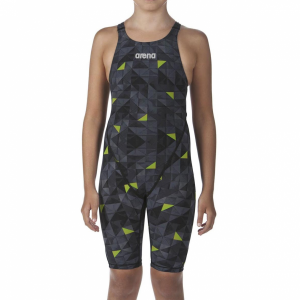 LIMITED EDITION Arena JUNIOR ST 2.0 Suit - Black Yellow