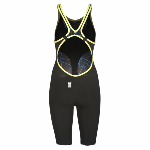 Arena Limited Edition Carbon Air Open Back Suit - Black / Blue