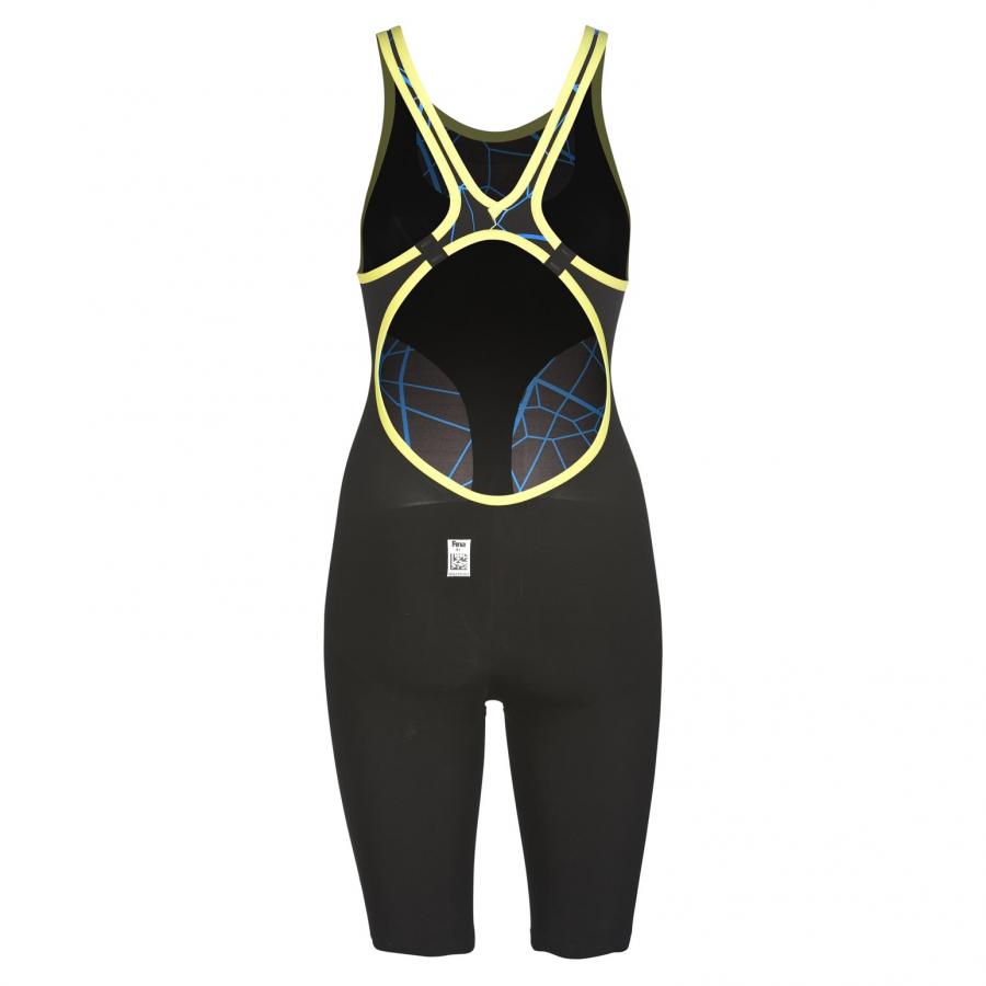 Arena Limited Edition Carbon Air Open Back Suit - Black / Blue