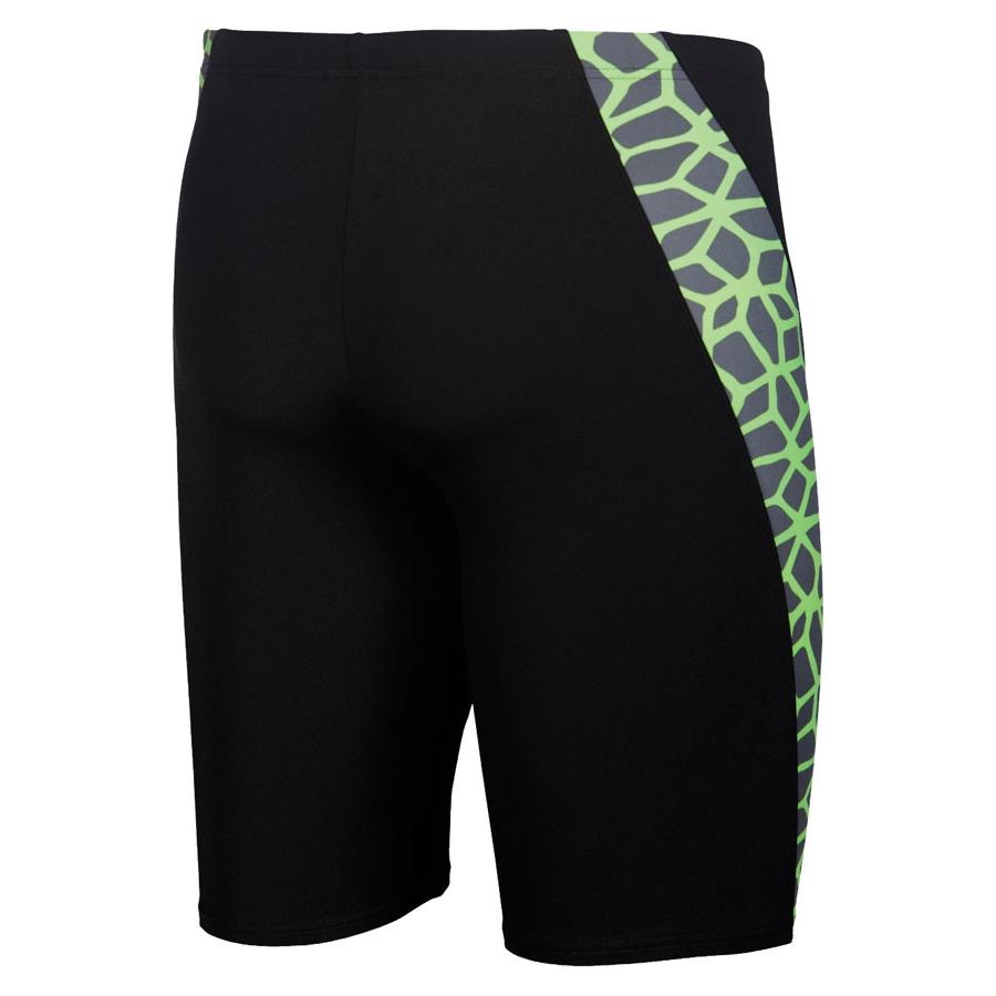 Arena Carbonics Men's Swim Jammers - Black / Green