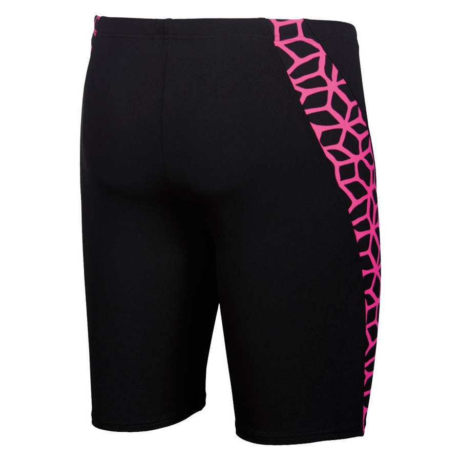 Arena Carbonics Men's Swim Jammers - Black / Pink