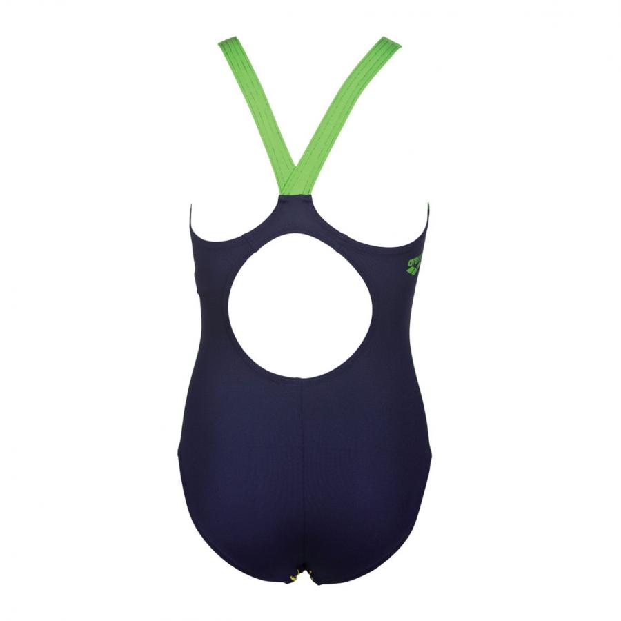 Arena Girls Reticulum Blue Swimsuit