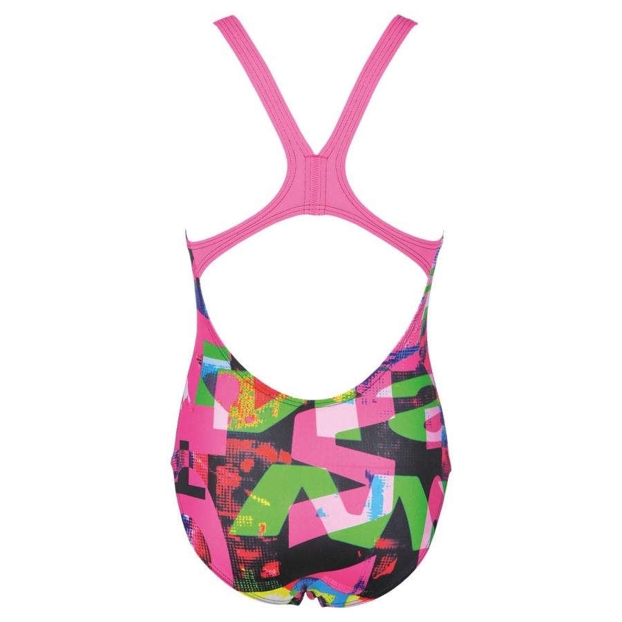 Arena Girls Pink Swimsuit - Instinct