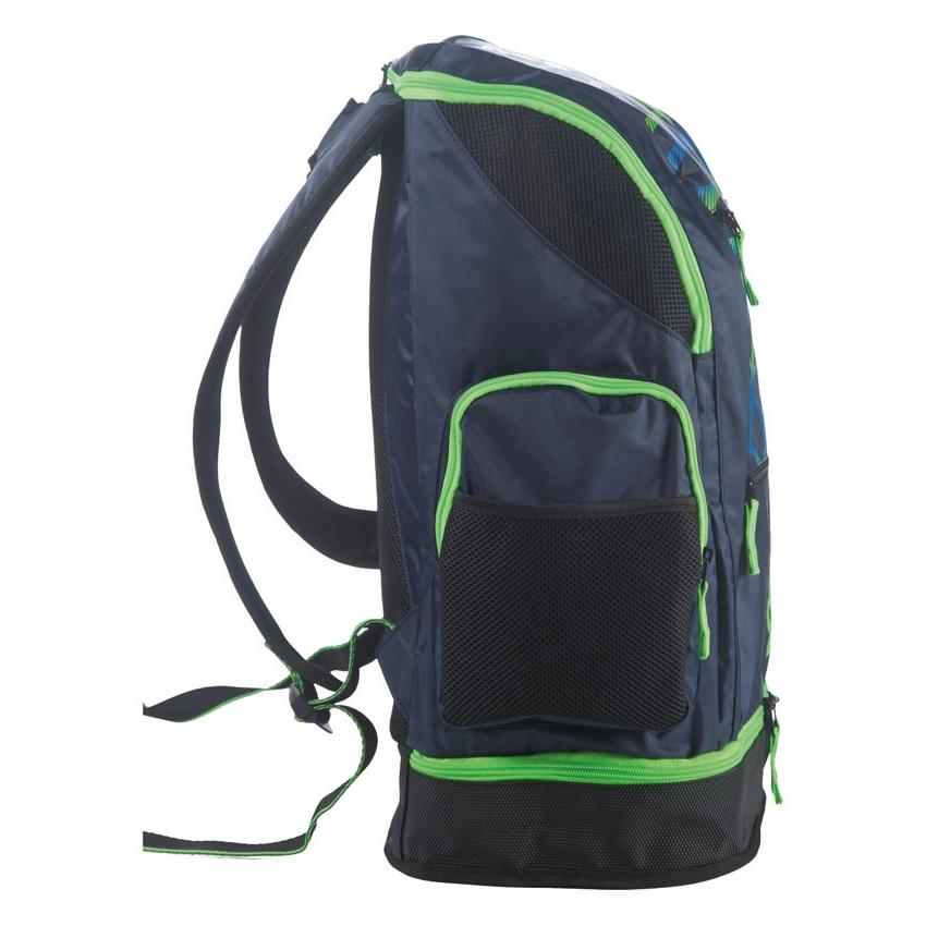 Arena Spiky 2 LARGE Backpack - SPIDER  Navy Blue / Green