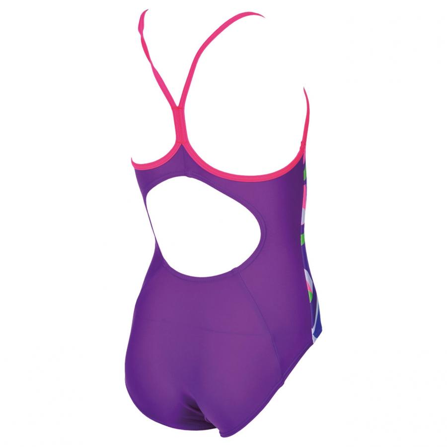 Arena Jumble Girls Purple Swimsuit
