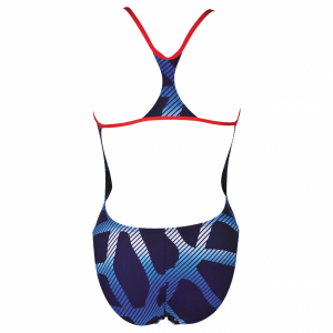 Arena Spider Booster Back Swimsuit - Navy Blue