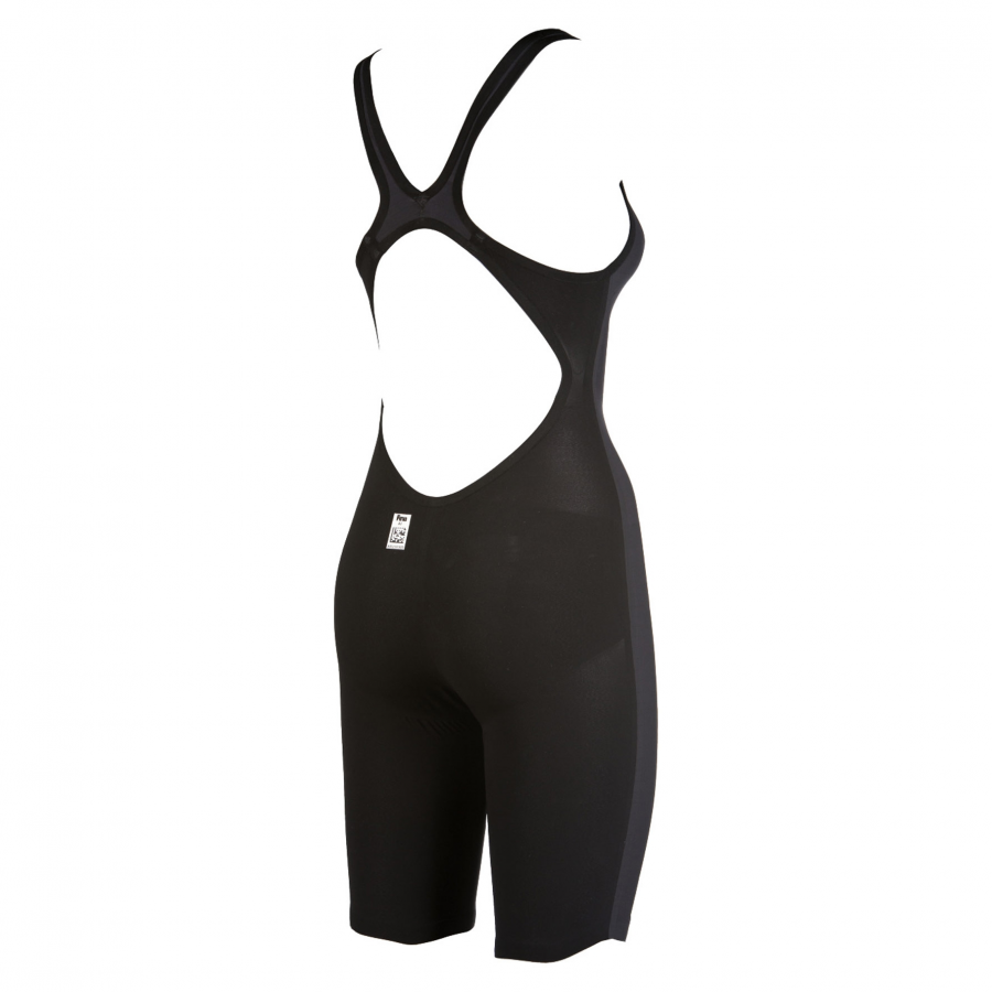 Arena Carbon Air Open Back Suit - Grey / Black