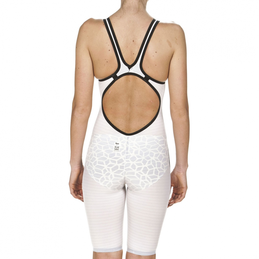 Arena Carbon Air Limited Edition White Open Back Suit