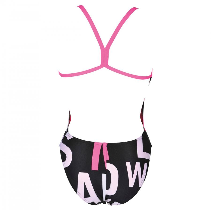 Arena Manifesto Ladies High Leg Swimsuit