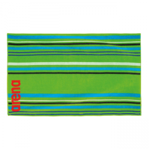 Big Multistripes Towel - Green