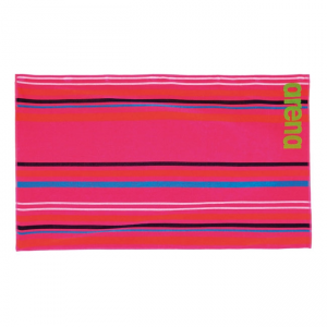 Big Multistripes Towel - Pink
