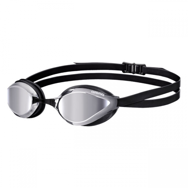 Arena Python Mirrored Goggles Silver Black