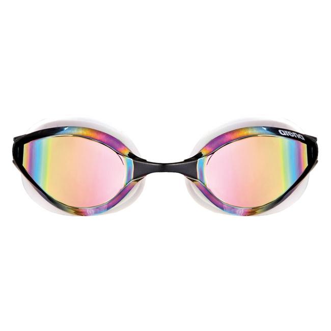 Arena Python Mirror Goggles - Yellow / White / Black