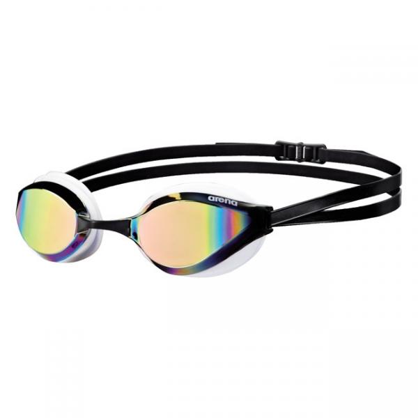 Arena Python Mirrored Goggles Yellow White Black