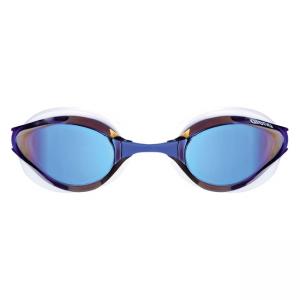 Arena Python Mirror Goggles - Blue / White