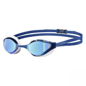 Arena Python Mirror Goggles Blue White