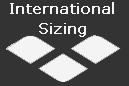 Arena swimwear mens international size guide