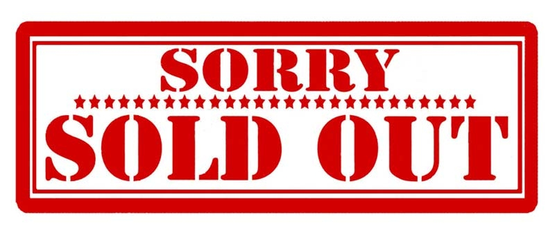 Sold out items