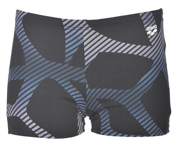 Arena Mens Spider Swim Shorts Black Grey