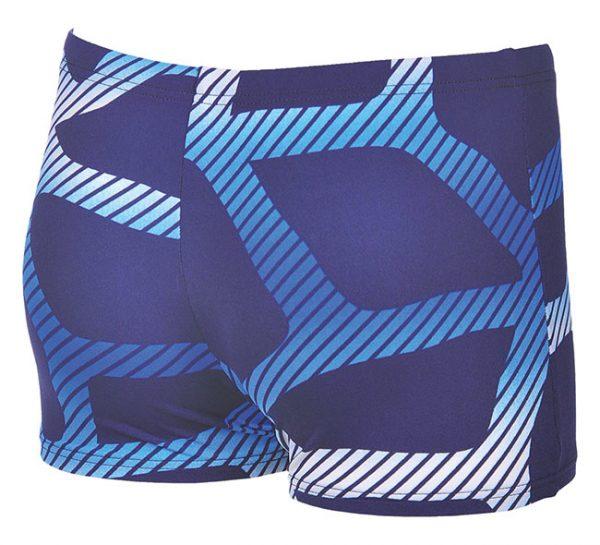 Arena Mens Spider Swim Shorts Blue White