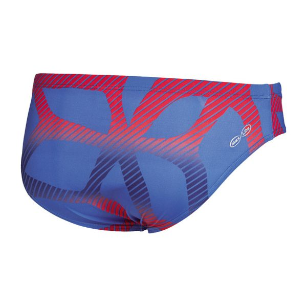Arena Mens Spider Swim Brief Blue Red