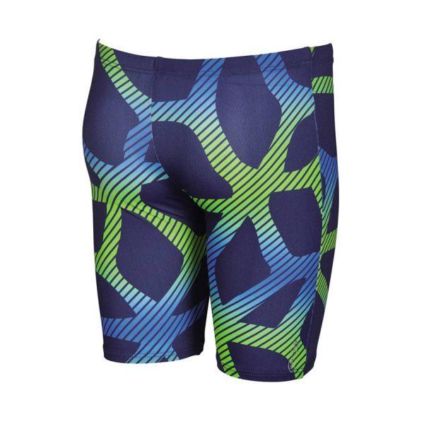 Arena Spider boy's blue swim jammers