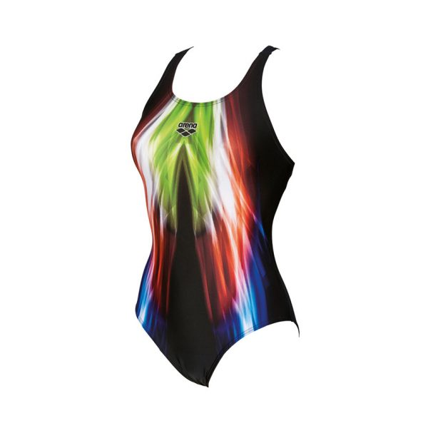 Arena Ladies Black Shining Swimsuit