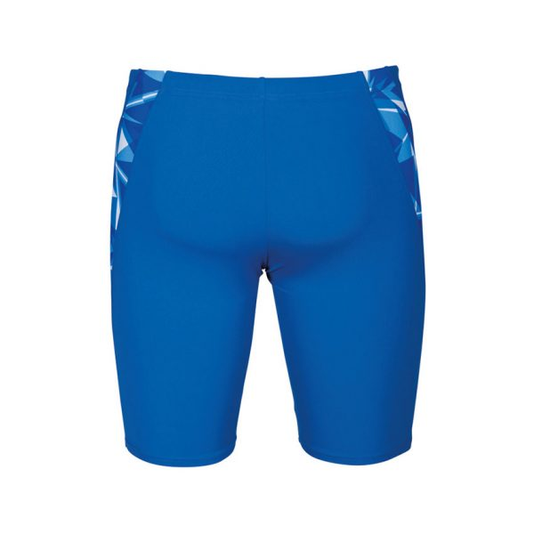 Arena Mens Swim Jammer Blue Shattered Glass