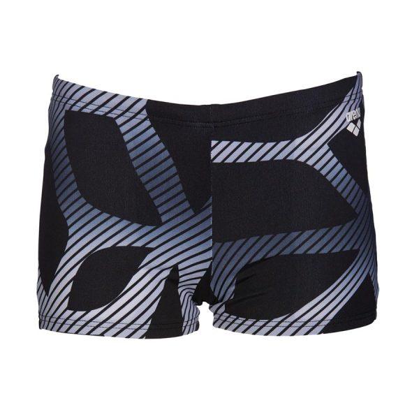 Arena Spider Black Boys Swim Shorts