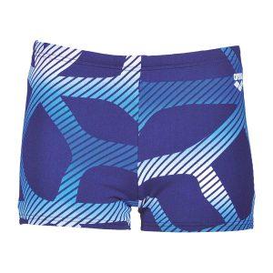 Arena Spider Boys Blue Swim Shorts