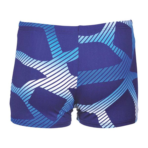 Arena Spider Boys Blue Swim Shorts
