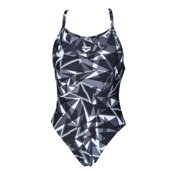 Shattered Arena Black Swimsuit