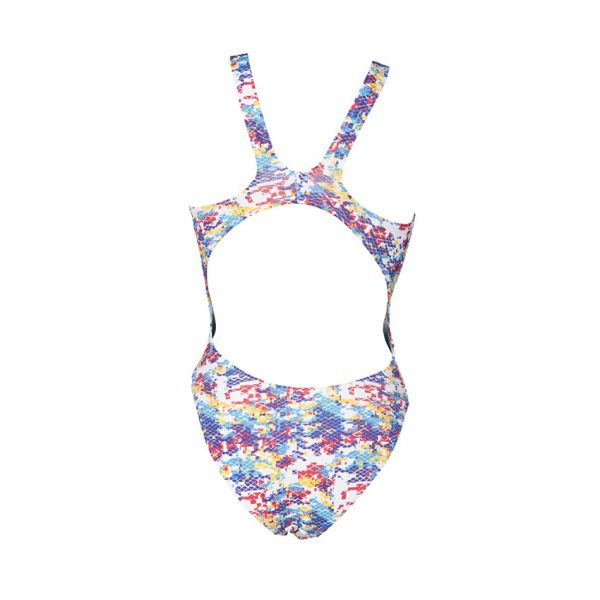 Camouflage Arena Yellow Blue Swimsuit